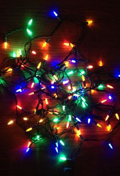 Packing up the Christmas lights. By KimStewart