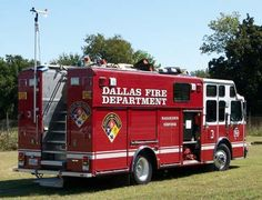Dallas Fire Department | Response truck of the Dallas Fire Department Hazardous Materials ...