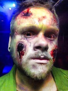 Halloween Make up: Lauriane Goullier