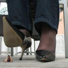 Лижет обувь фото 12