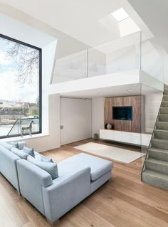 Chiquet Flood House by ben adams architects (Ben Adams) / Weybridge, 2011