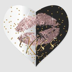 """Stickers. Kiss Dusty Rose and Gold Glitter Lips. 99% of my designs in my store are done in layers. This makes it easy for you to resize and move the graphics and text around so that it will fit each product perfectly. (Please be sure to resize or move graphics if needed before ordering) You can also """"TRANSFER DESIGN"""" on other Zazzle products and adjust the design to fit most of Zazzle items. (button is down on the right side of the page) Some of the text graphics have ready to fill in the… Glitter Lips, Gold Glitter, Dripping Lips, Exactly Like You, Different Shapes, Dusty Rose, Custom Stickers, Colorful Backgrounds, Kiss"""