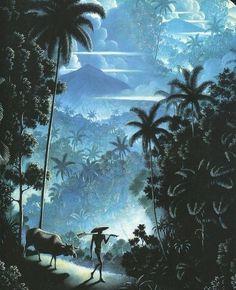 nickyskye meanderings: Walter Spies and Balinese art