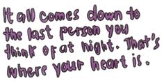 Hold on to that person