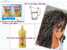 qual o outro gel que tem a mesma composiçao do gel eco - Pesquisa Google 3b Natural Hair, Natural Hair Styles, African Hairstyles, Curled Hairstyles, Curly Girl, How To Make Hair, Hair Growth, Hair And Nails, Your Hair