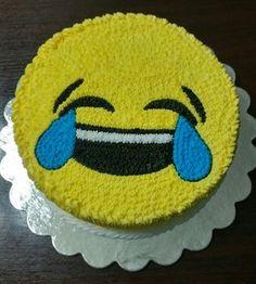 Buttercream Emoji Cake