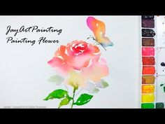 Jay Art - Watercolor Painting JayLee is a specialized watercolor artist. JayArt videos are showing how to paint creative arts as painting flowers and techniq...