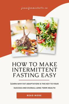 Intermittent fasting isn't meant to feel like traditional dietary starvation. If you do it incorrectly you'll lose muscle mass. There is a right and wrong way to fast. if you do it correctly you won't believe how easy it actually is. #intermittentfasting #jennifermichelleco Healthy Living Tips, Healthy Life, Glucose Intolerance, Fat For Fuel, Fat Adapted, Brain Fog, Muscle Tissue, Healthy Aging, Group Meals