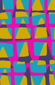 80s triangles and checks - Sarah Bagshaw