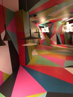 Foscarini al Salone del mobile di Milano 2016 Light Design, Wall Colors, Exhibit, Hue, Walls, Fancy, Colour, Marketing, Lighting