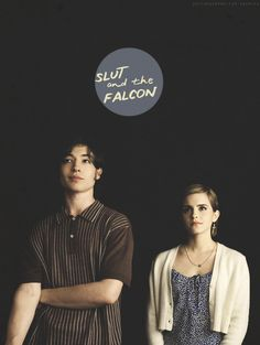 The Perks Of Being A Wallflower- What Patrick wanted Charlie to right about: Patrick: the falcon, Sam: Slut