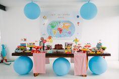 Festa Infantil Volta ao Mundo!