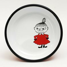 Moomin - Little My enamel plate