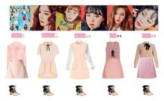 """""""RED VELVET - LITTLE LITTLE❤"""" by mabel-2310 on Polyvore featuring Vivienne Westwood, Miu Miu, RED Valentino, Chanel, Frankie Morello, Gucci, TIBI, Tarina Tarantino and J.W. Anderson"""
