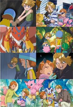 Day 20 - The first couple you can remember shipping: Matt & Sora, Digimon