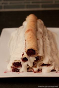 "Gorka (""little hill"") cake   Russian Bites"