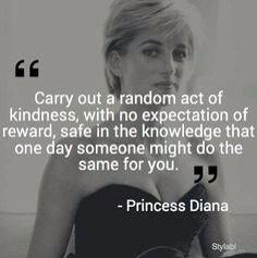 Great Words from A Great Princess