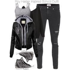 winter outfits for school & winter outfits . winter outfits for work . winter outfits for school . winter outfits for going out . Teenage Outfits, Teen Fashion Outfits, Tomboy Fashion, Edgy Outfits, Grunge Outfits, Look Fashion, Outfits For Teens, Tomboy Winter Outfits, Jeans Outfits