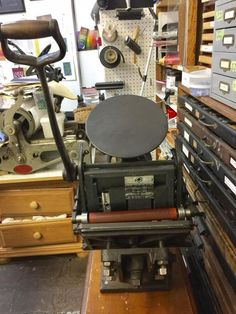Hohner table top press