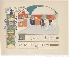 Petits contes de chez nous / Illustrations en couleurs de Jeanne Hebbelynck. Texte de Marcelle Vérité, Desclée de Brouwer, 1938