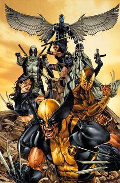 Universo HQ: X-FORCE (MARVEL COMICS)