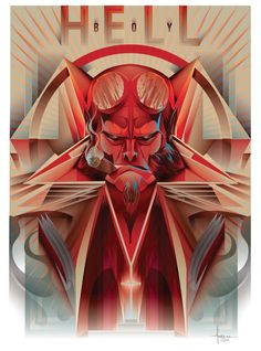 #HellBoy #Fan #Art. By: Orlando Arocena.