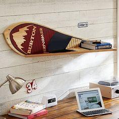 Burton Snowboard Shelf #pbteen