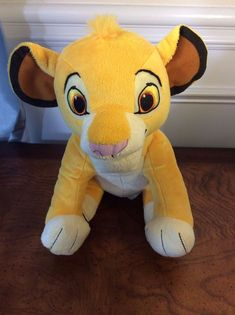 "Disney Kohl's Cares For Kids Plush Stuffed Animal Toy Lion King Simba 11"" Height #DisneyKohlsCaresforKids"