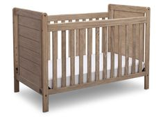 Both rustic and relaxed in style, the Serta Cali Convertible Crib is an attractive piece that grows as your child does. Featuring 4 adjustable mattress heights, this crib easily converts into a toddler bed, daybed and full size bed. Rustic Baby Nurseries, Baby Boy Nursery Themes, Baby Boy Nurseries, Baby Cribs, Nursery Ideas, Rustic Nursery, Themed Nursery, Woodland Nursery, Discount Bedroom Furniture