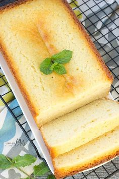 Classic Ricotta Pound Cake recipe - for best results follow directions just as they are written and you will have a perfect pound cake.