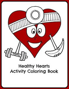 Healthy Hearts Activity Book