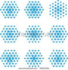 """""""Halftone Pattern"""" on a punctured surface - Grasshopper"""