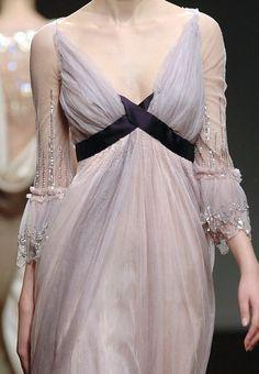 agameofclothes:  Lilac gown Sansa would wear, Christophe Josse