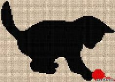 Image result for cats in cross stitch free patterns