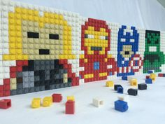 Hey, I found this really awesome Etsy listing at https://www.etsy.com/listing/234057919/mini-brick-avengers-size-128-x128-cm