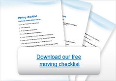 Download your #free #moving #checklist!