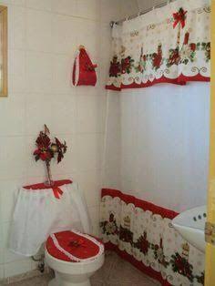 Resultado de imagen para juego de baño navidad