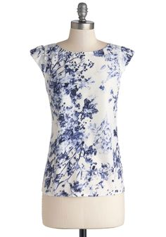 By the Garden Pond Top.   #modcloth Don't like the sleeves, but can wear under a cardigan