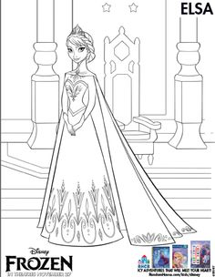 Disney Elsa Coloring Pages. New Disney Elsa Coloring Pages. Disney Frozen Anna and Elsa Coloring Pages Olaf Free Little Disney Frozen Party, Frozen Birthday Party, Frozen Movie, Disney Disney, Princess Birthday, 5th Birthday, Birthday Ideas, Frozen Coloring Sheets, Frozen Coloring Pages