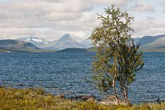 Kilpisjärvi--autumn 2001 three ladies of us did go hiking here.