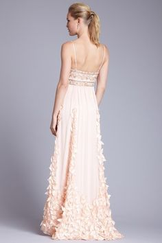 Sue Wong Bow Embellished Gown. LOVE