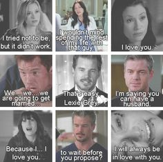 Mark and Lexie. Crying so hard.