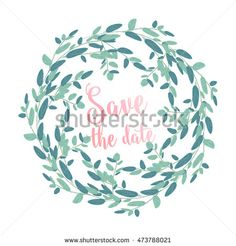Unique set of bouquet and wreath of flower succulent, chrysanthemum, cactus, eucalyptus  with leave and basil. Suitable for ceremonial wedding invitation, greeting card, save the date card.