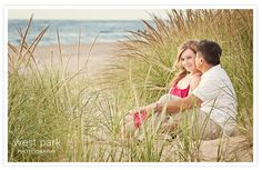 Keri & Sam's Lake Michigan Beach Engagement Session