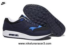4a8d8e1ddc2 Authentic Dark Blue Nike Air Max 87 2013 New Mens Shoes Running Nike