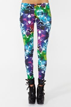 MOTEL Tie Dye Leggings