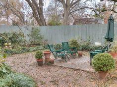 Backyard Ockley house