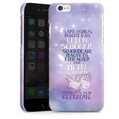 Mein Einhorn für Premium Case (glänzend) für Apple iPhone 6 von DeinDesign™