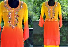 COLORS AND MIRRORS ! http://www.yellowkurti.com/Party-wear/Colors-N-Mirrors---id-2443447.html  29 November 2016