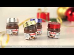Petits pots de Noël par Nutella